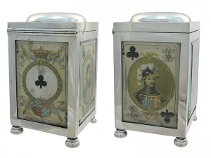 Silver Playing Card Box Chester1901