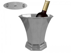 Danish Silver Wine Cooler1930