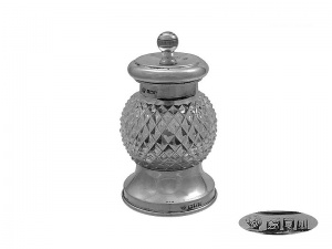 Antique Silver  Pepper Grinder London 1906