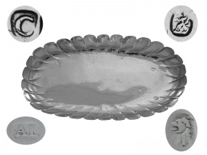 George I Silver Spoon Tray 1718