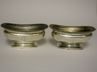 Pair George III Salts London 1812