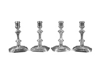 Set of 4 George II Candlesticks London 1742