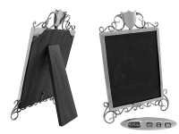 Victorian Silver Picture Frame 1899