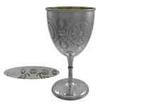 Victorian Silver  Goblet 1874