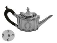 Georgian Silver  Miniature Tea Pot 1790