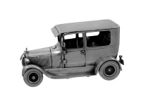 Sterling Silver Model T Ford Motor Car 1979