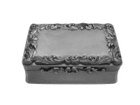 Georgian Silver Snuff Box 1834