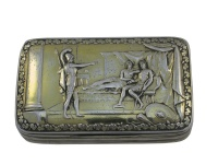 Georgian Silver Snuff Box 1813
