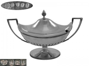 George III Sauce Tureen London 1804