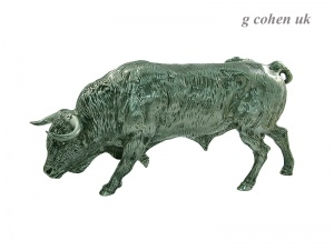 Continental Solid Silver Bull 1980