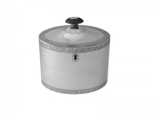 Georgian Silver Tea Caddy 1790