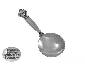 Sterling Silver Caddy Spoon Georg Jensen 1930