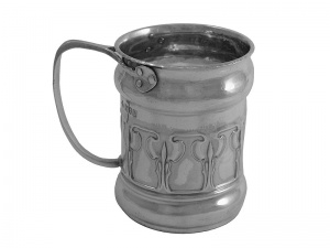 Art Nouveau Silver Child s Mug 1905
