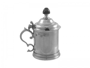 Irish Sterling Silver Mustard Pot 1967