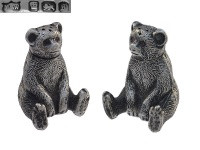 Pair of Teddy Bear Pepper Pots 1910