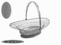 Georgian  Silver  Bread Basket 1791