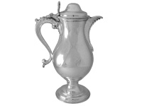 Georgian Silver Beer Jug 1782