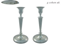 Pair of Georgian Silver Candlesticks 1796