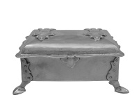 Arts&Crafts Silver Casket London1900