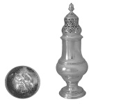 Georgian Sterling Silver Sugar Shaker 1779