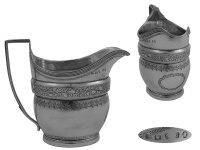 George III Silver Cream Jug 1802