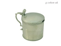 George III Mustard Pot London 1774