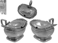 Pair of George III Mustard Pots London 1814