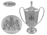 Royal Agricultural Presentation Cup & Cover 1907
