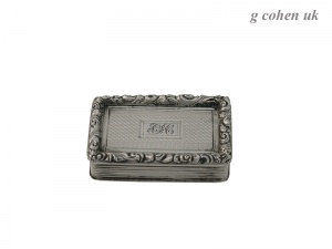 William IV Silver  Vinaigrette 1831